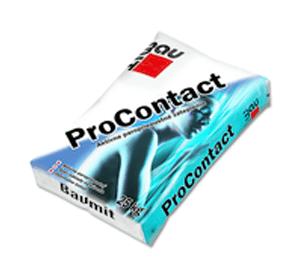 Baumit Pro Contact клеевая армирующая смесь (ППС и МВ), 25кг