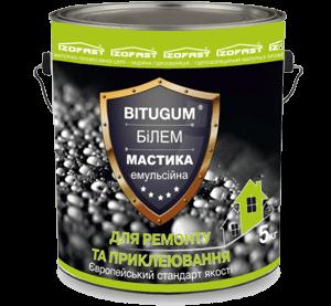 Bitugum БиЛЭМ клей битумно-латексный, 18 кг