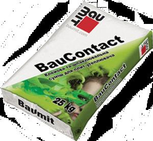 Baumit Bau Contact клеящая армирующая смесь (ППС и МВ), 25кг