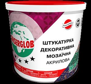 Anserglob акрил. мозаичная, 25 кг