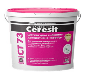 Ceresit CT 73 силикат. короед 2,00мм25кг